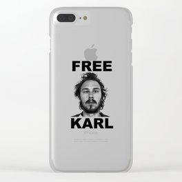 home of the free karl Clear iPhone Case