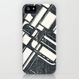 Fatigued Entropy #001 iPhone Case