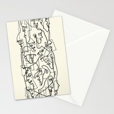 Curves And Lines Stationery Cards
