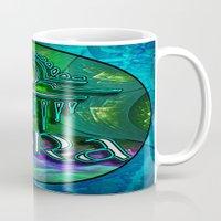 astrology Mugs featuring Libra Zodiac Sign Astrology by CAP Artwork & Design