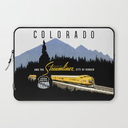 Union Pacific Train poster 1936 - Retouched Version Laptop Sleeve
