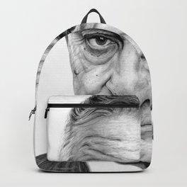 Robert De Niro portrait Backpack