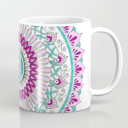 Purple Passion Mandala Coffee Mug