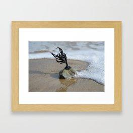 Hanging On Framed Art Print