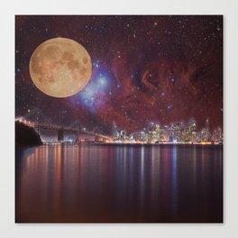 Strange Skys Canvas Print