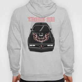 Pontiac Firebird Trans Am 77-78 - Black and Red Hoody