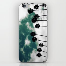 Palms in the sky iPhone Skin