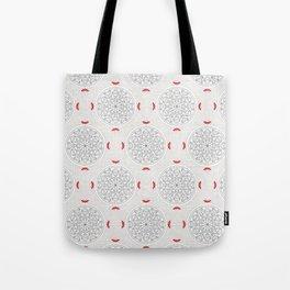 Kiss Rosette Lace Tote Bag
