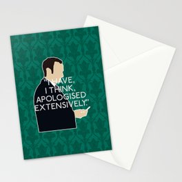 The Lying Detective - Mycroft Holmes Stationery Cards