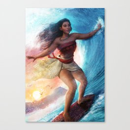 Moana Canvas Print