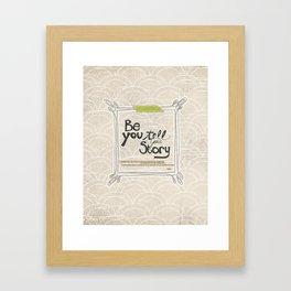 Ya Yeah | Be You Framed Art Print