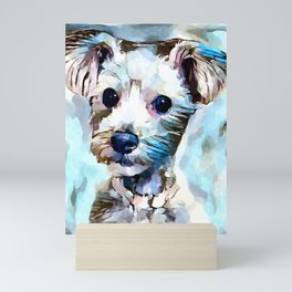 Schnoodle 3 Mini Art Print
