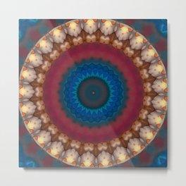New Color Pyramidal Mandala 73 Metal Print
