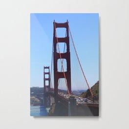 Golden Gate from Below Metal Print