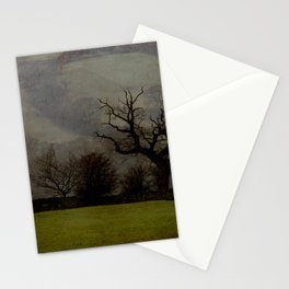 Farndale in rain Stationery Cards