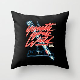 Youth Gone Wild Throw Pillow