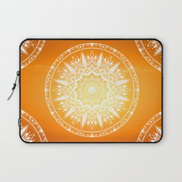 Sunset mandala Laptop Sleeve