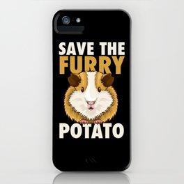 Furry Potato T-Shirt guinea pig lover gift iPhone Case