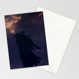 Under the Galaxies Stationery Cards