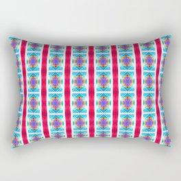 Arabic Ornament Stripes Rectangular Pillow