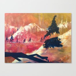 Marching By Canvas Print