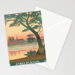 Vintage poster - Orleans Stationery Cards
