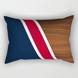 Wooden New England Rectangular Pillow