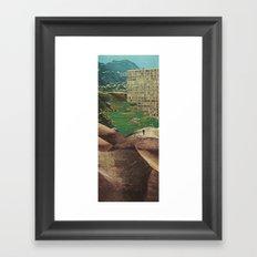 High Plains Drifter Framed Art Print