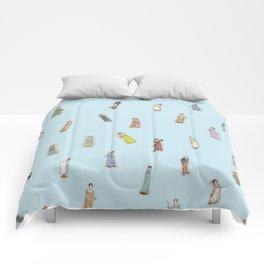 Jane Austen characters Comforters