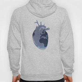 The earth is our heart - EARTH DAY '16 - all artist profits to be donated Hoody