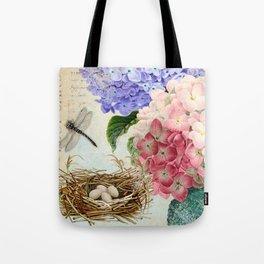 Vintage Flowers #14 Tote Bag