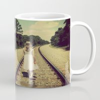 forever young Mugs featuring forever young by Starr Shaver