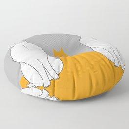 Cat sarcophagus Floor Pillow