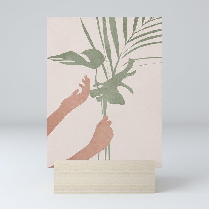 Leafs Mini Art Print