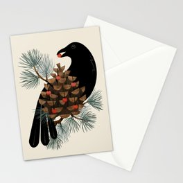 Bird & Berries Stationery Cards