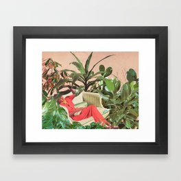 SECRET PLACE Framed Art Print