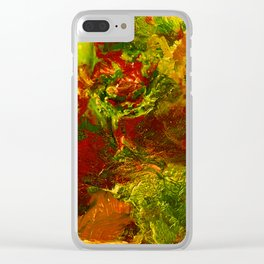 Unending Existence Clear iPhone Case