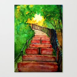 Kabbalah Sefirot Series: Ascension Canvas Print
