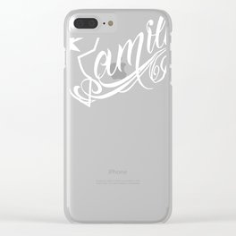 Famous Stars & Straps Family Clear iPhone Case