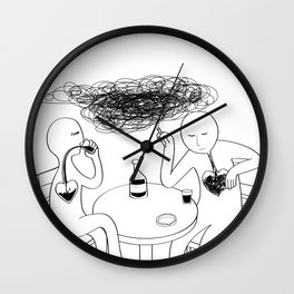 How To Fill The Heart Without Love Wall Clock