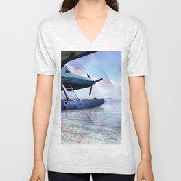 Seaplane Unisex V-Neck