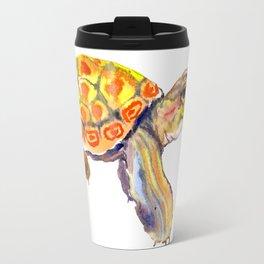 Orange Baby Turtle Travel Mug
