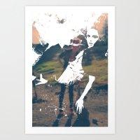 incognita Art Print
