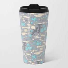 Sea life Metal Travel Mug