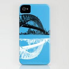 sydney in blue iPhone (4, 4s) Slim Case