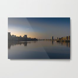 Peace Before the Chaos in London Metal Print