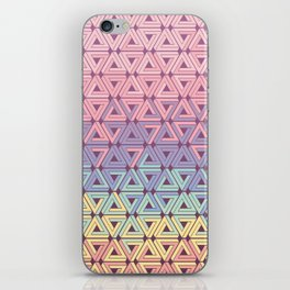 Holographic Candy Geometric iPhone Skin