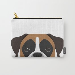Boxer Portrait Carry-All Pouch