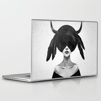 couple Laptop & iPad Skins featuring The Mound II by Ruben Ireland