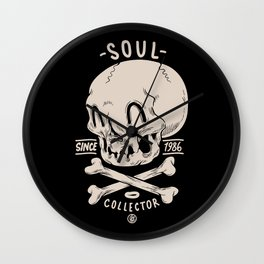 Soul Collector Wall Clock